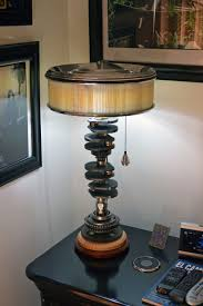 Light Fixture Hardware Parts by Gear Shaft Lamp Made Using Gear Clusters From A Motorcycle And