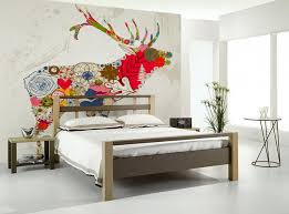 bedroom wall mural ideas bedroom ideas with flora deer wall mural zz animals moose