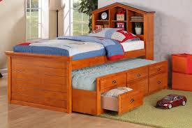 bedroom amusing kids twin size captains bed with storage drawers