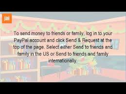 how do i send money from paypal to a friend