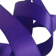 purple satin ribbon regal purple satin ribbon