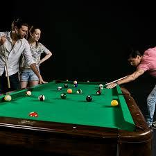 barrington 90 inch pool table w cue rack u0026dartboard md sports