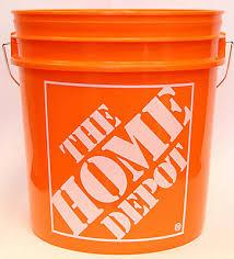 thd 8l 2 gallon orange home depot logo ed the home depot