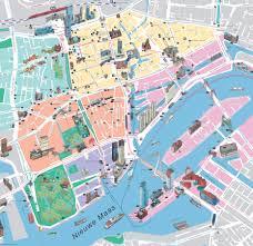 Map Of Amsterdam Graphatlas Com Rotterdam