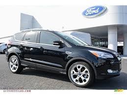 Ford Escape Black - 2016 ford escape titanium in shadow black b11392 all american
