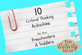 the activity mom critical thinking activities