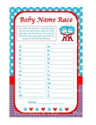 dr seuss baby name race seuss baby names game printable baby