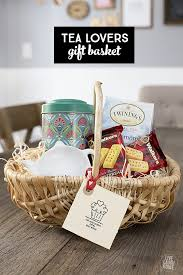 themed gift basket ideas tea gift basket for the tea lover live laugh rowe