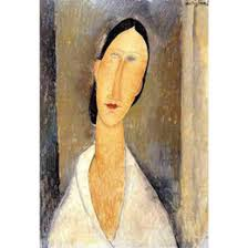 modigliani woman with a fan paintings modigliani online amedeo modigliani paintings for sale
