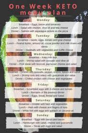 last week u0027s meal menu every sunday i take 10 minutes to put it