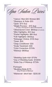 13 best salon images on pinterest salon ideas price list and