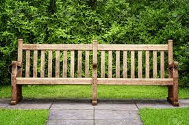park bench in hyde park london stock photo picture and royalty
