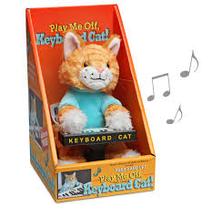 Keyboard Cat Meme - keyboard cat animatronic plush thinkgeek