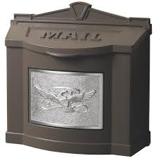 wall mounts for decorative plates wall mount mailboxes residential mailboxes the home depot