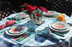 happy everything plates dining alfresco bleu interiors