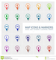 Google Maps Icon Map Icons And Markers Stock Illustration Image Of Local 35126851