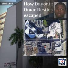 dayonte resiles apprehended after broward county courthouse