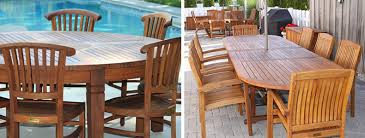 Best Teak Patio Furniture by Stunning Teak Dining Set Outdoor Buying Tips For Choosing The Best