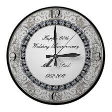 anniversary clock gifts 21 best 60th wedding anniversary gifts images on 60