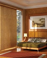 interior the best large vertical blind for bay window design ideas
