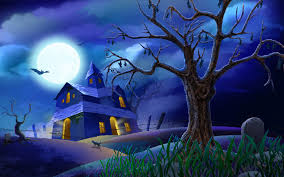 Halloween House Lights Video by Halloween Wallpapers Flash And Video