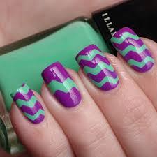best 25 zig zag nails ideas on pinterest finger nails