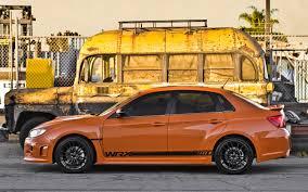 subaru orange 2013 subaru wrx and sti special edition 2012 sema auto show