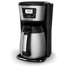 BLACK&DECKER 12 Cup Thermal Coffeemaker Easy To Clean Color Black
