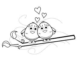 adorable love birds coloring pages batch coloring