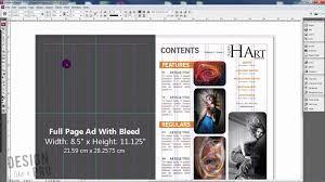 magazine layout size how to determine magazine ad sizes magazine design youtube