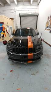 racing jeep grand cherokee racing stripes custom made 3m vinyl professional