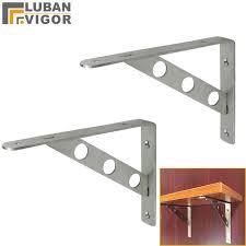 mensola acciaio dimensioni 140x200mm 4mm di spessore in acciaio inox mensola