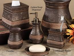 bathroom ideas awesome and beautiful brown bathroom sets mat