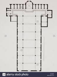 ground plan of the basilica di santa croce basilica of the holy