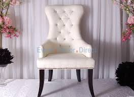 and groom chairs studded white and groom chair pair event decor