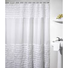 Frilly Shower Curtains Lush Decor Serena Shower Curtain Hayneedle