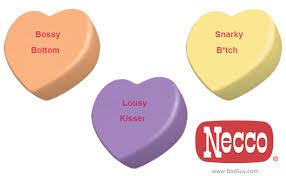 necco sweethearts personalized necco sweethearts bosguy