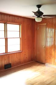 the wood panelling room before and in progess all sorts of pretty