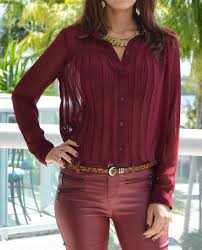 burgundy blouse burgundy monochromatic look oxblood blouse oxblood and