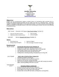 restaurant server resume food server resume skills resume resume skills