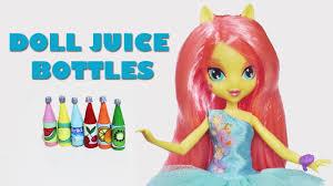 make doll juice bottles doll crafts simplekidscrafts youtube