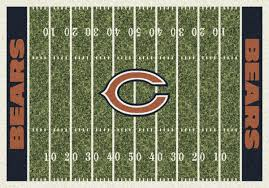 Area Rug Manufacturers Milliken Area Rugs Nfl Home Field Rugs 01018 Chicago Bears