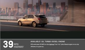 2018 chevrolet equinox diesel impresses with best in class 39 mpg