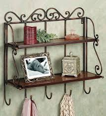 Snapdeal Home Decor Metal Style Brown Wall Shelf By Metal Style Online Wall Shelves
