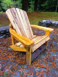 Redwood Adirondack Chair Paul Rickard