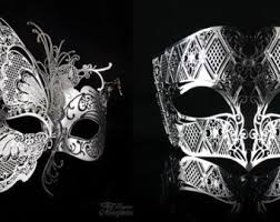 masquerade mask for couples couples masquerade mask etsy