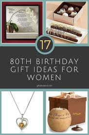 17 great 80th birthday gift ideas for women