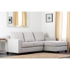 abbyson living regina fabric sectional sofa in gray rl 1321 gry