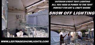 art show display lighting convention expo booth lighting portable led display light