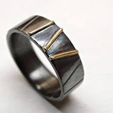 Viking Wedding Rings by Buy A Hand Made Cool Mens Ring Alternative Wedding Band Rugged